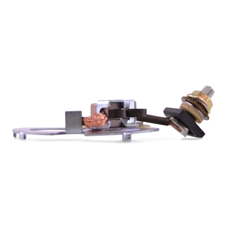 Starter Brush Plate Repair Kit (2) Nippon Denso For Honda TRX 200 300 350 400 / VF VFR/NSS 250 Reflex 750 1989-2014 OEM Repl. 31206-KW1-901 RMSTATOR