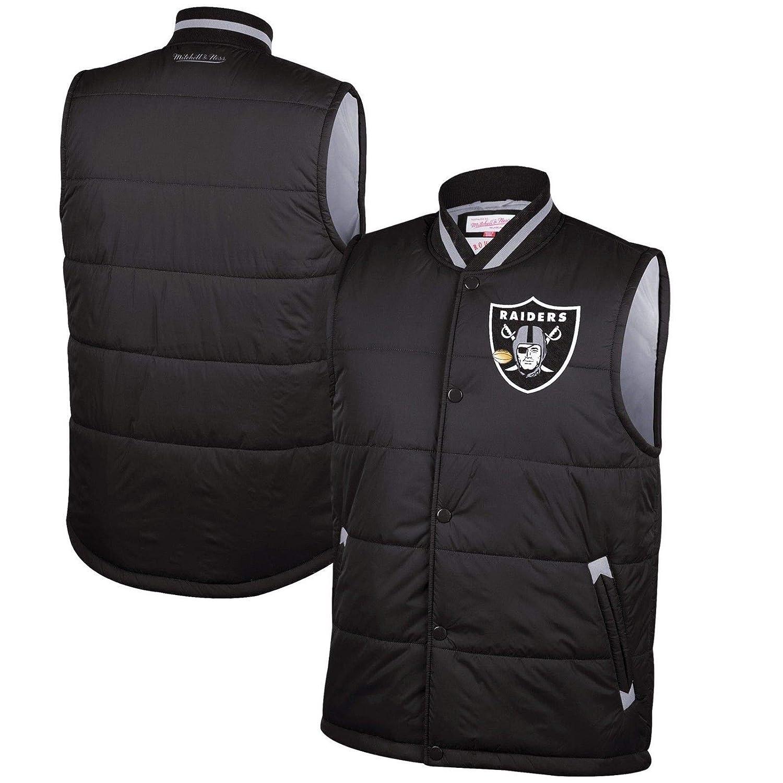 Amazon.com: Mitchell & Ness Oakland Raiders - Chaleco de ...