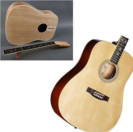 Generador de DIY Kit de guitarra acústica. Personalizar y hacer su ...
