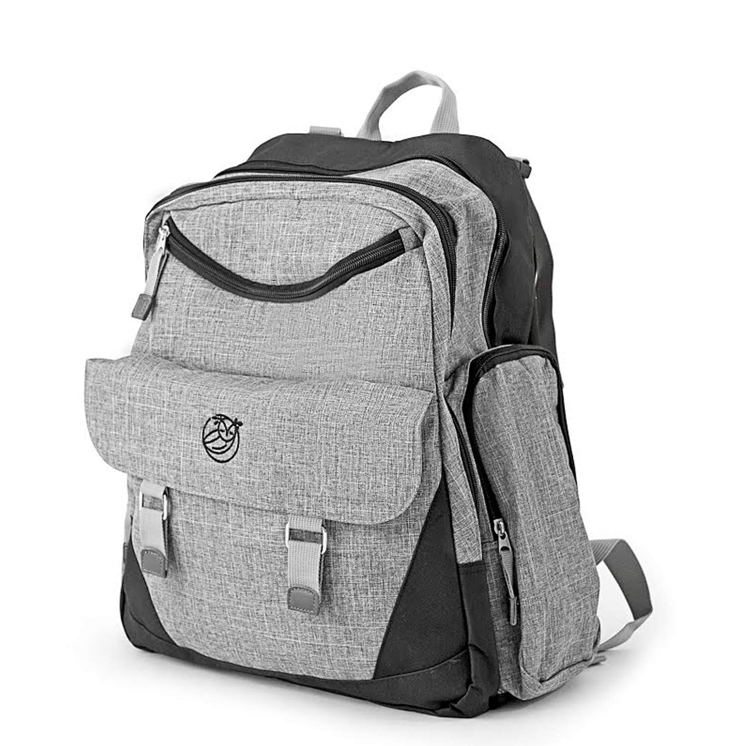 6975a5eb773d Amazon.com   Diaper Bag Backpack - Large Capacity Baby Bag for Mom or Dad -  Includes Changing Mat - Durable and Comfy for Travel - Waterproof Mens  Diaper ...
