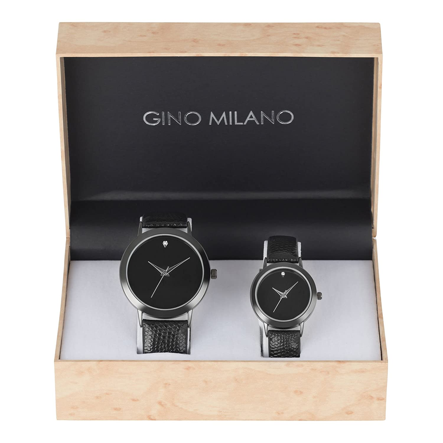 His And Hers Watch Sets >> Amazon Com His And Her Watch Sets 2 Piece Matching Gift Set By