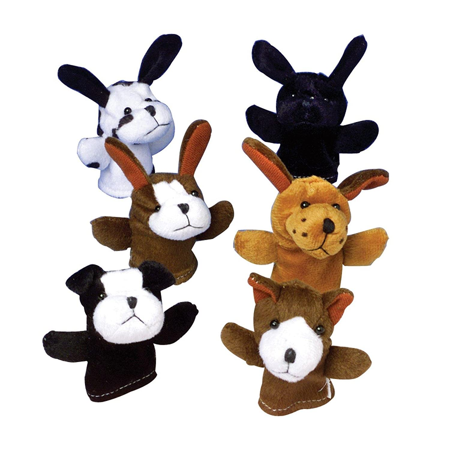 US Toy - Dog Finger Puppets-12 pieces U S Toy 1903494