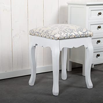 Design Delights Elegant Stool Baroque For Dressing Table Or Piano