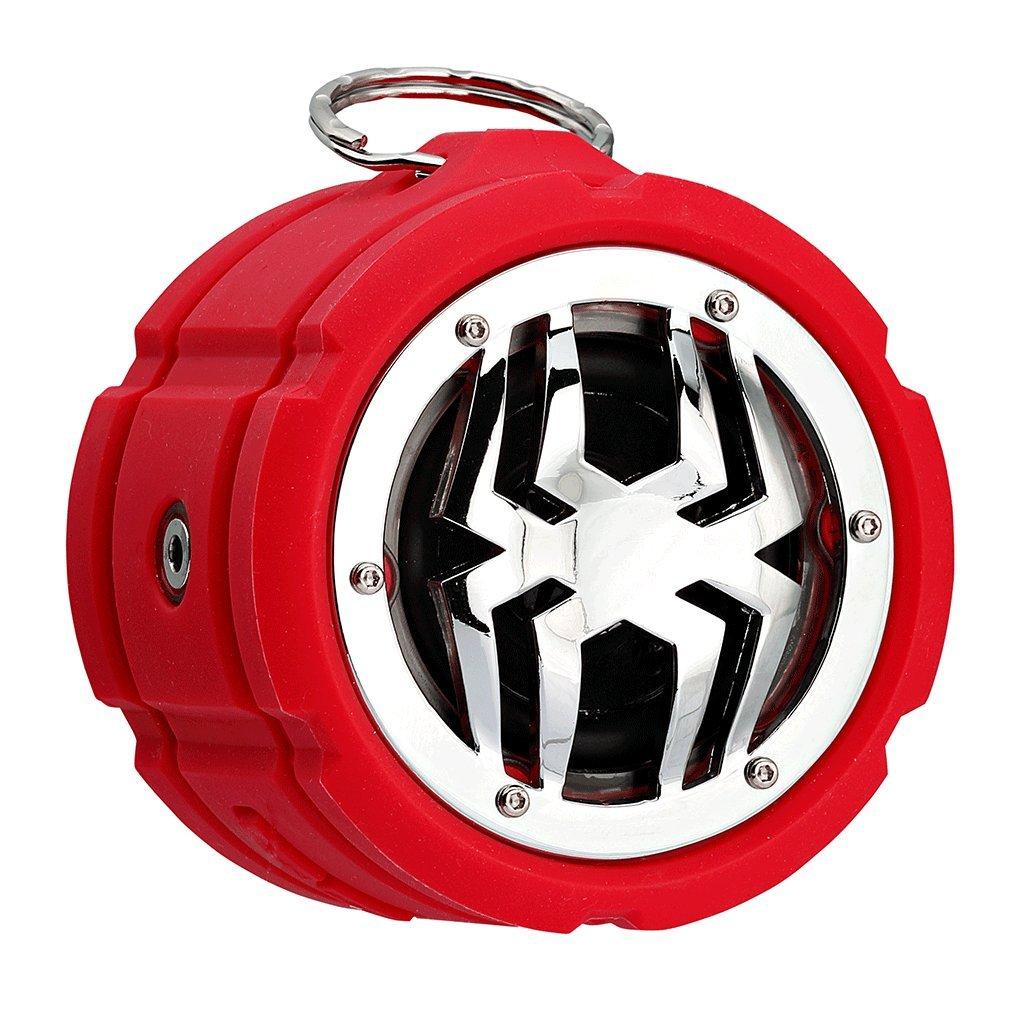 SPIDER Waterproof Bluetooth Speaker BT802 Red