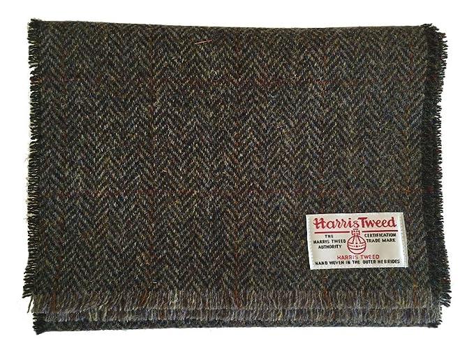 Harris Tweed Luxury Scarf (Brown)  Amazon.co.uk  Clothing 8757a4b284d