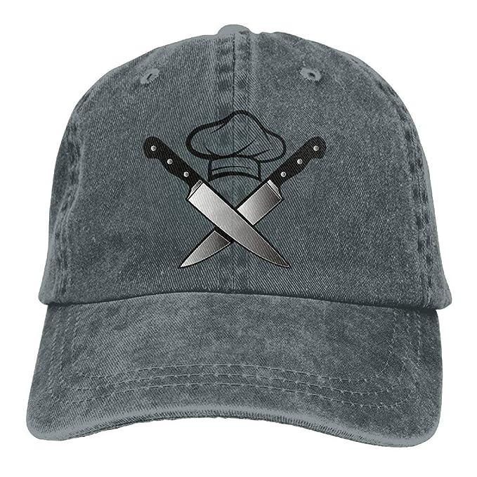 Bidetu Hombres de la Mujer Chef Sombrero Cuchillos de ...