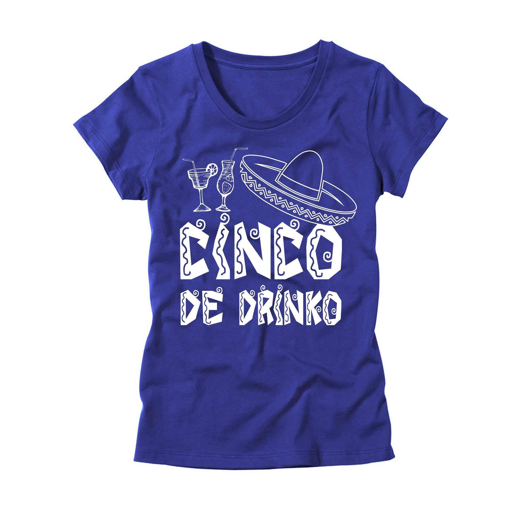 Cinco De Drinko T Shirt Cinco De Mayo Shirt Mexican Fiesta Tee 2593