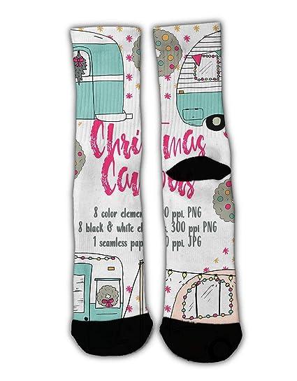 b81be258014c Amazon.com  GLORY ART Colorful Dress Socks