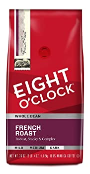 Eight O'Clock Whole Bean French Roast Coffee