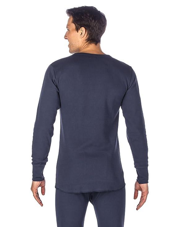 Noble Mount Frío Extremo Conjunto Intimo Térmico para Hombre - Azul Obscuro -XL: Amazon.es: Ropa y accesorios