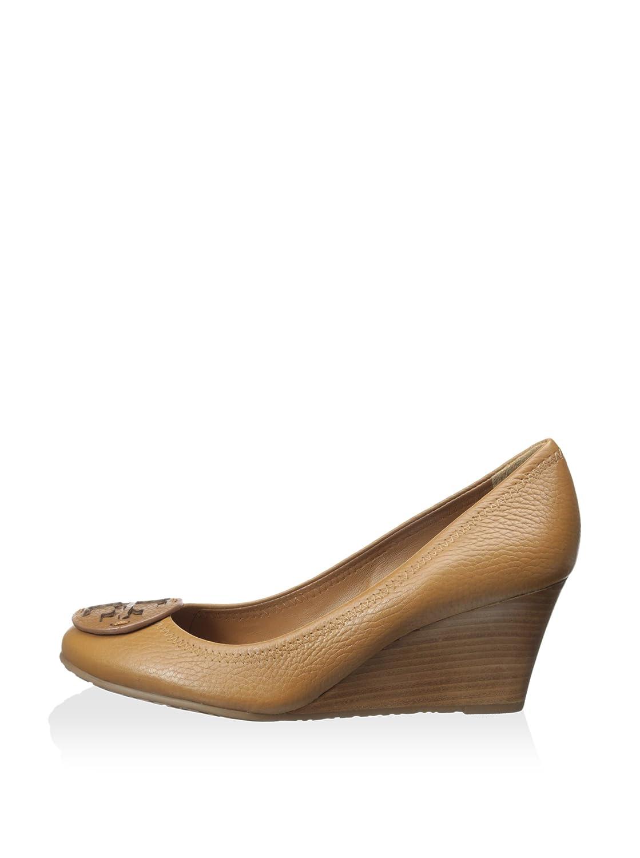 11fc4883e06f Tory Burch Sally Wedge Pump Royal Tan Women s 7.5 M US  Amazon.ca  Shoes    Handbags
