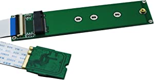 Sintech M.2 (NGFF) NVME SSD to M2 A/E Key WiFi Port with 20cm Cable