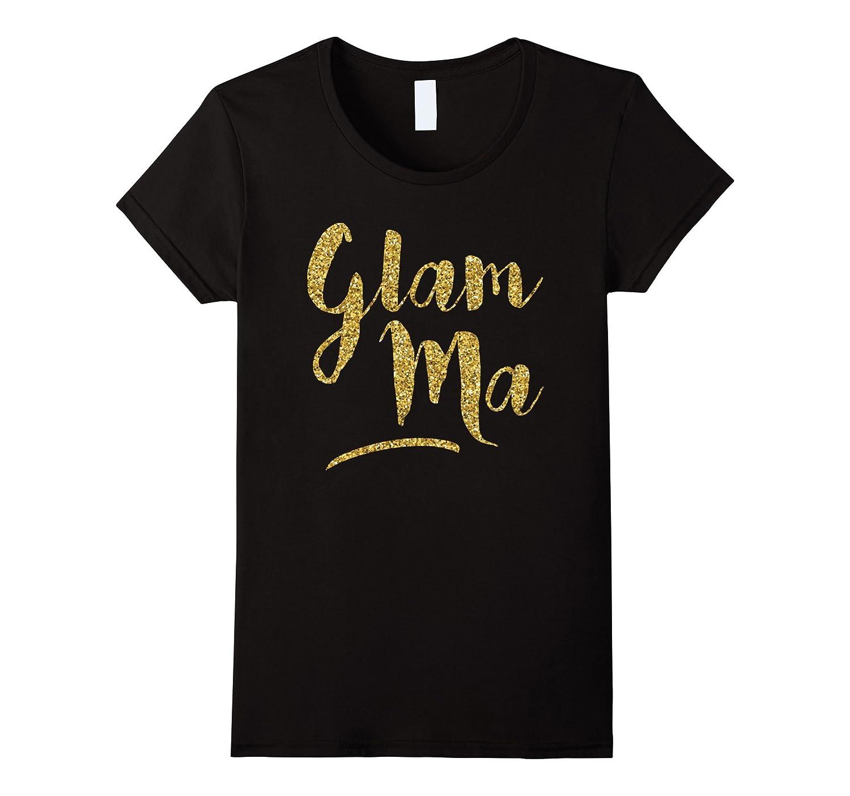 Women's Glam-Ma – Grandma – Grandmother T-Shirt