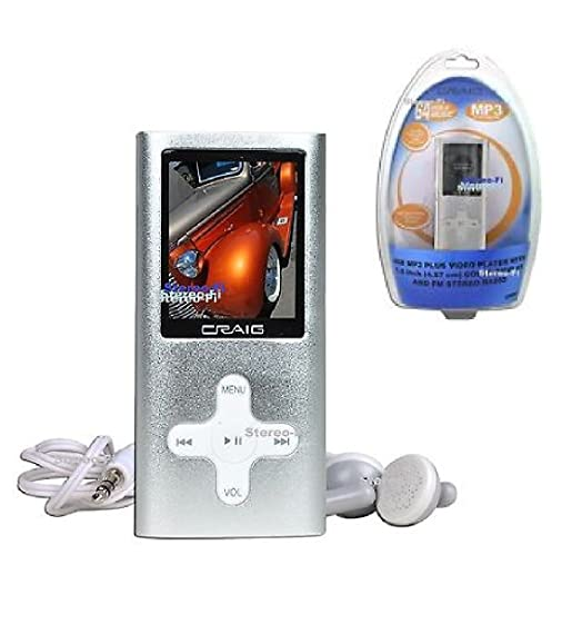 amazon com craig electronics cmp616f 4gb portable mp3 plus video rh amazon com Craig Tablet Cases Solar MP4 Player