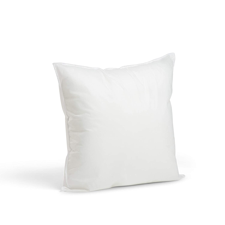 "Foamily Premium Hypoallergenic Stuffer Pillow Insert Sham Square Form Polyester, 16"" L X 16"" W, Standard/White 718pb1b2BWfL"