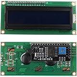 HALJIA 5V IIC/I2C LCD Module 1602 16x2 Serial HD44780 Character LCD Board Display with White on Blue Backlight for Arduino UNO R3 MEGA2560 Nano Due Raspberry Pi