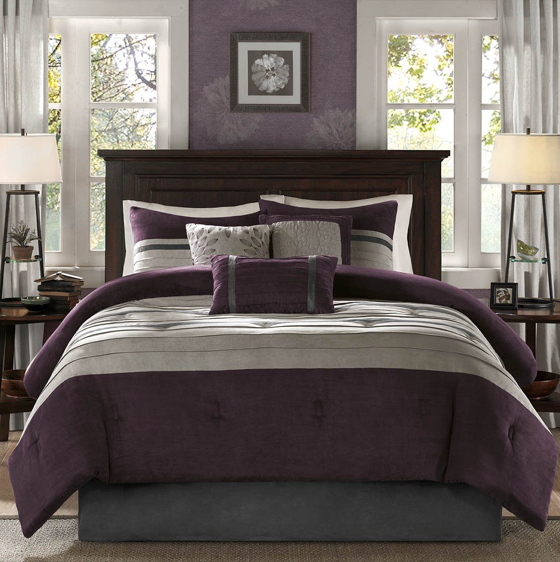 Comforter Set - Plum - California King