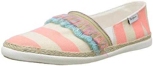 Pepe Jeans Nora Fringes, Alpargata Niñas: Amazon.es: Zapatos y complementos