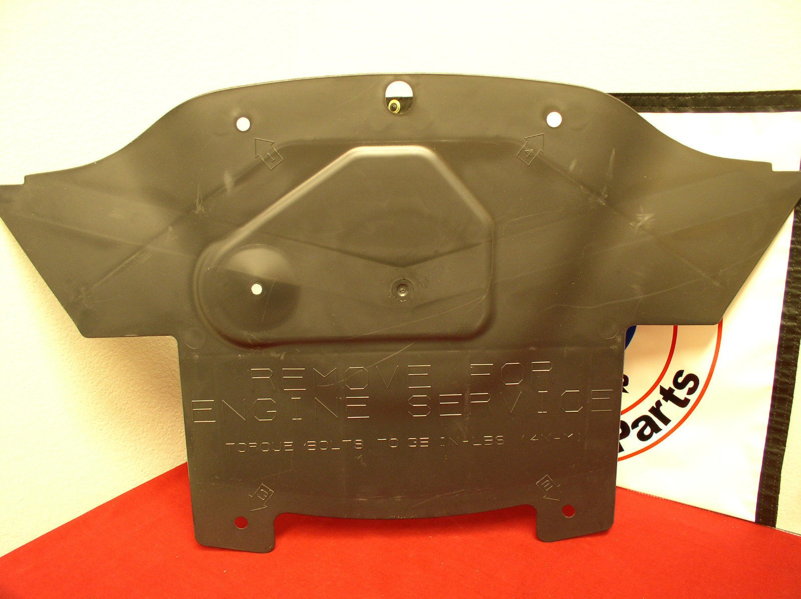 New Replacement FRONT ENGINE SPLASH SHIELD FOR 2005-2010 CHRYSLER OEM Quality