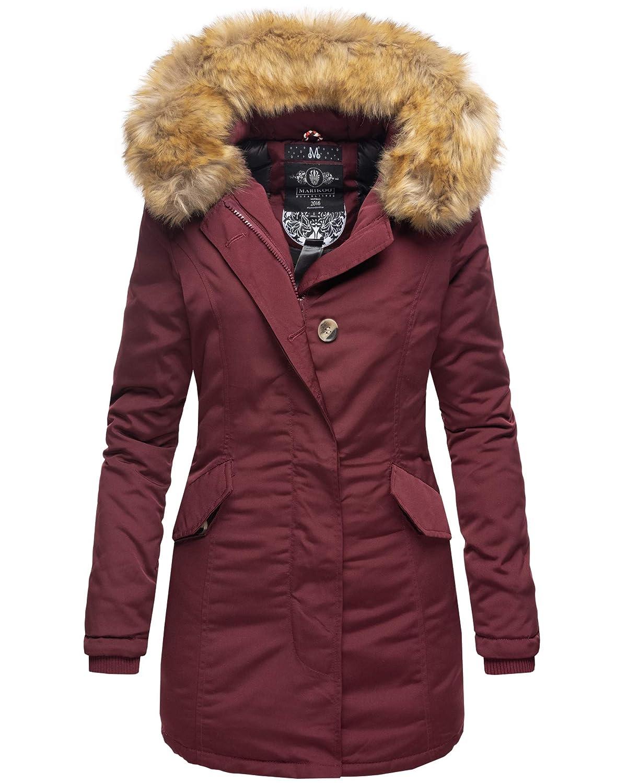 Damen Xs Winter Kunstpelz Stepp Warm Gefüttert Marikoo Karmaa Parka Jacke Xxl Mantel Winterjacke tdhsQrC