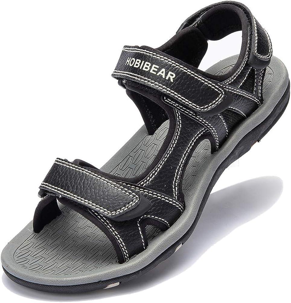 UBFEN Sandalen Herren Trekkingsandalen Sommer Sport Outdoor Schuhe Strand Wandersandale Wanderschuhe Freizeitschuhe Atmungsaktive Sandale