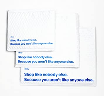 """blue new 10 Branded Airjacket Padded Envelopes 6.5/"""" x 8.75/"""" small"""
