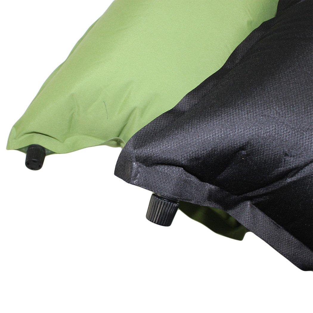 Dianoo 2PCS viajar cámping excursionismo automático inflable almohadas - conjunto de 2PCS, los colores serán enviados al azar worth2buy