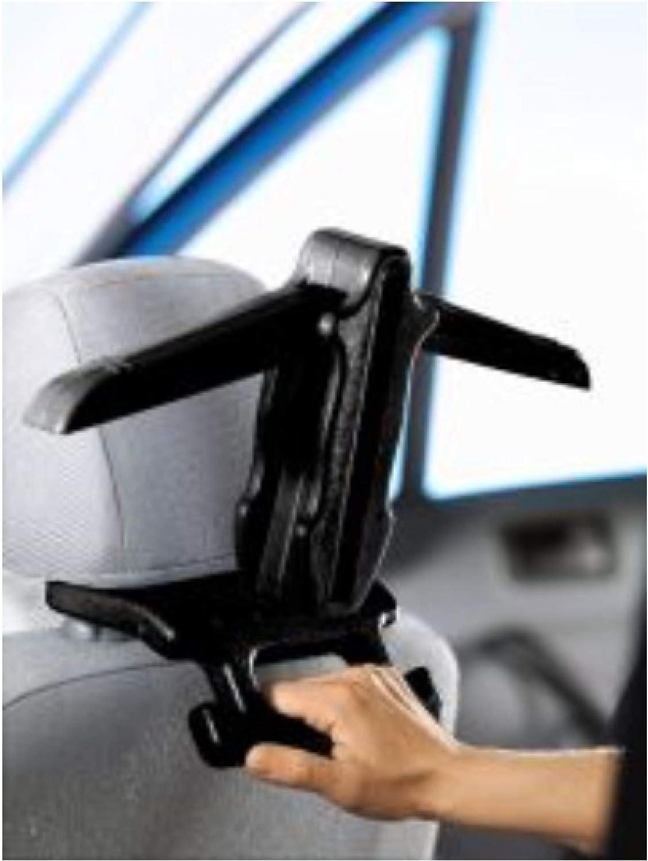 Kopfst/ütze mit Haltegriff KFZ 45cm Garderobe B/ügel Haken TRI Auto Kleiderb/ügel f