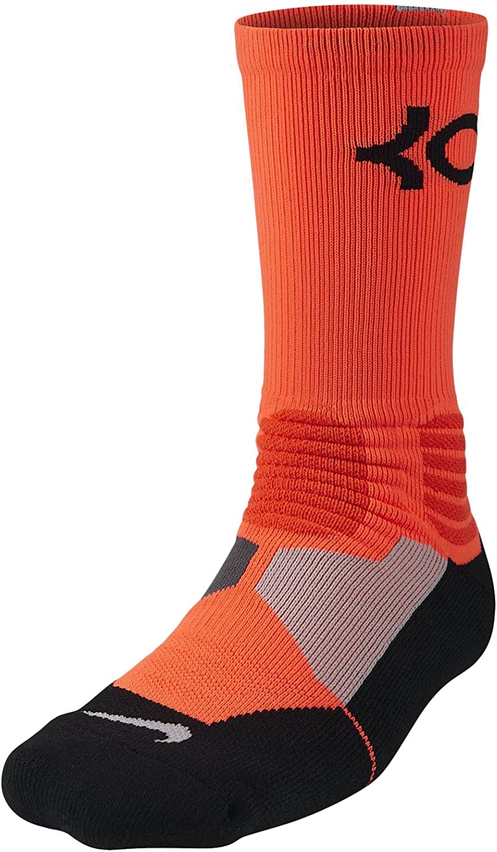 Nike Mens Hyper Elite Kevin Durant Black//Photo Blue//Team Orange Socks