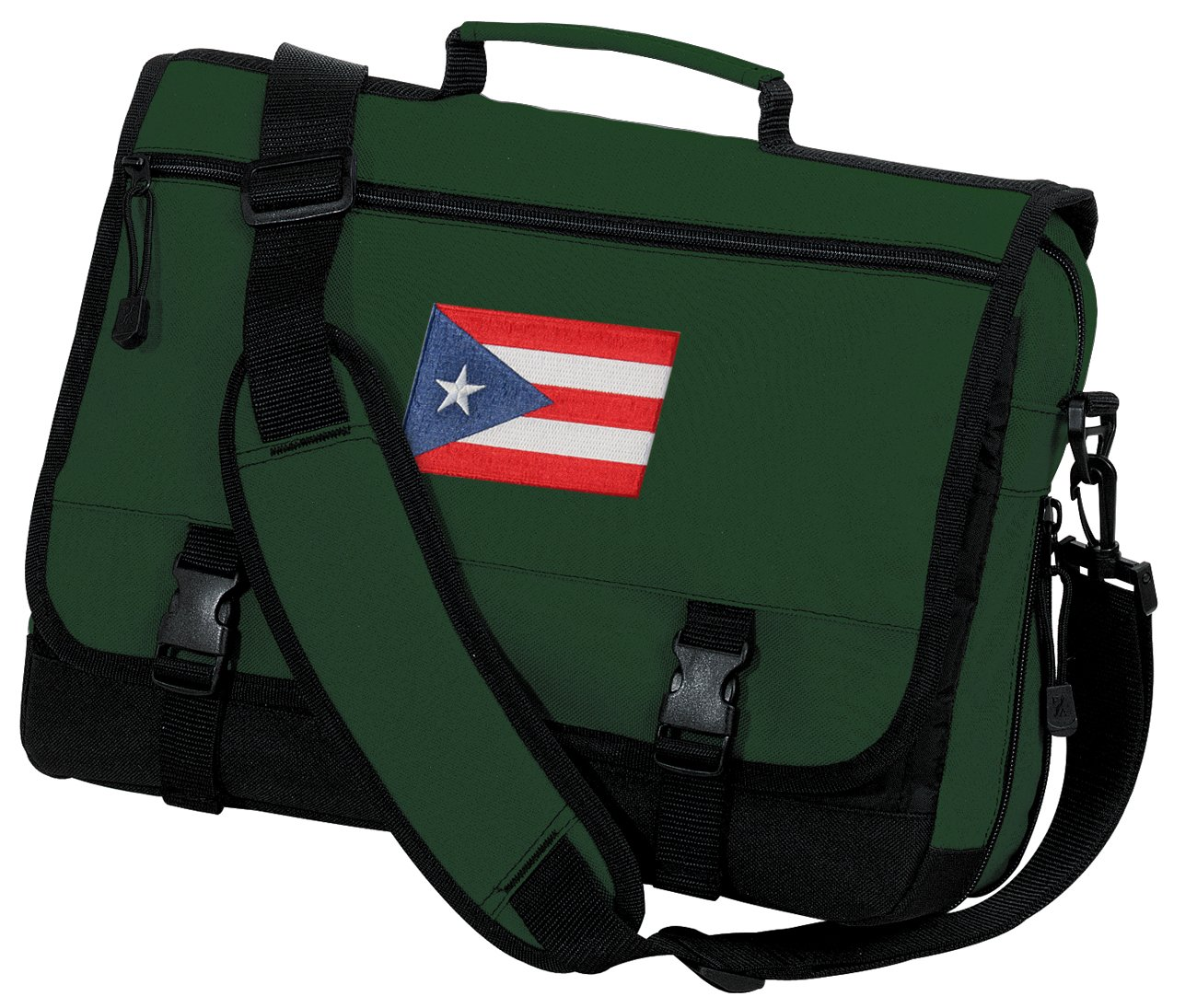Puerto Rico Flag Laptop Bag Puerto Rico Messenger Bag