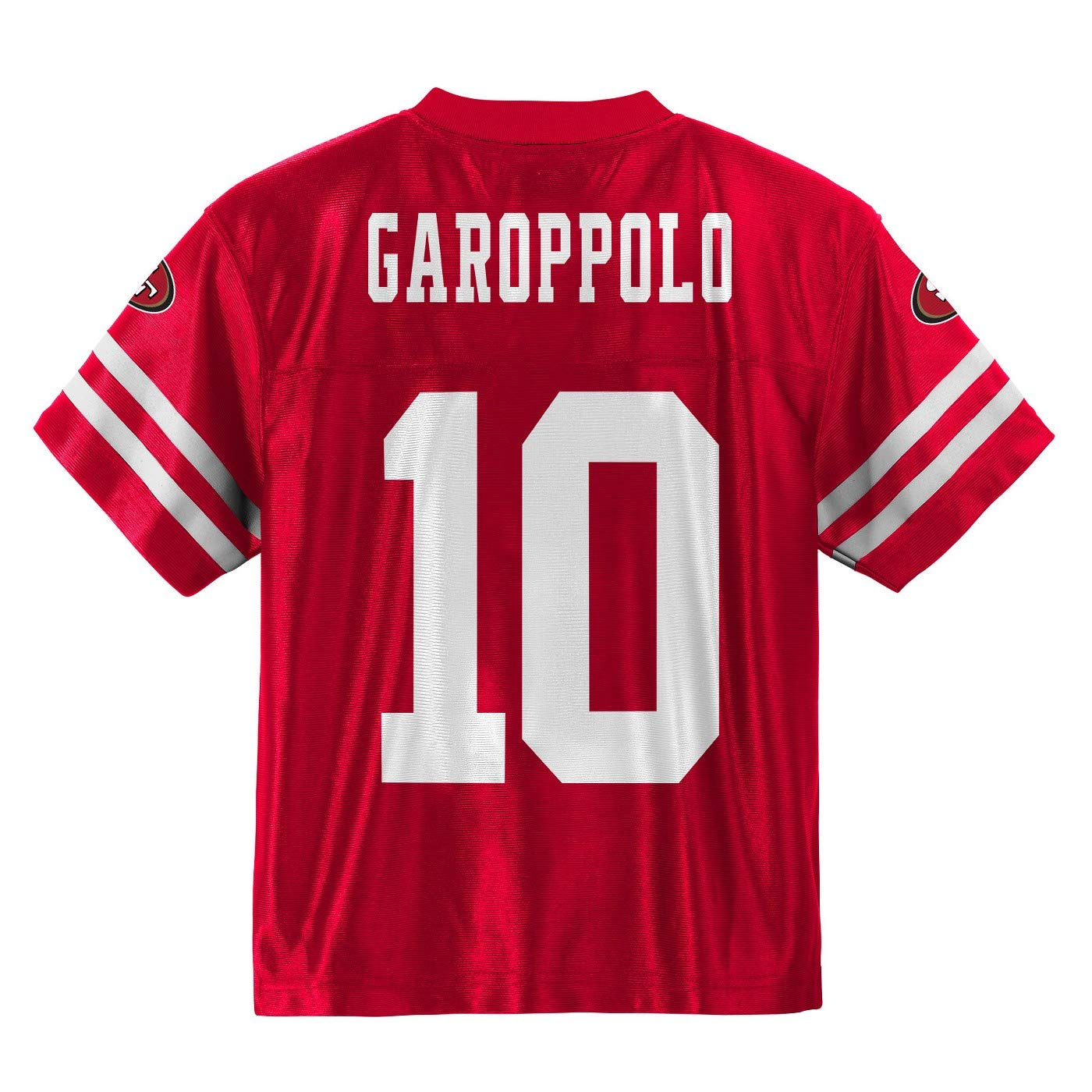 Outerstuff Jimmy Garoppolo San Francisco 49ers #10 Red Youth Home Player Jersey