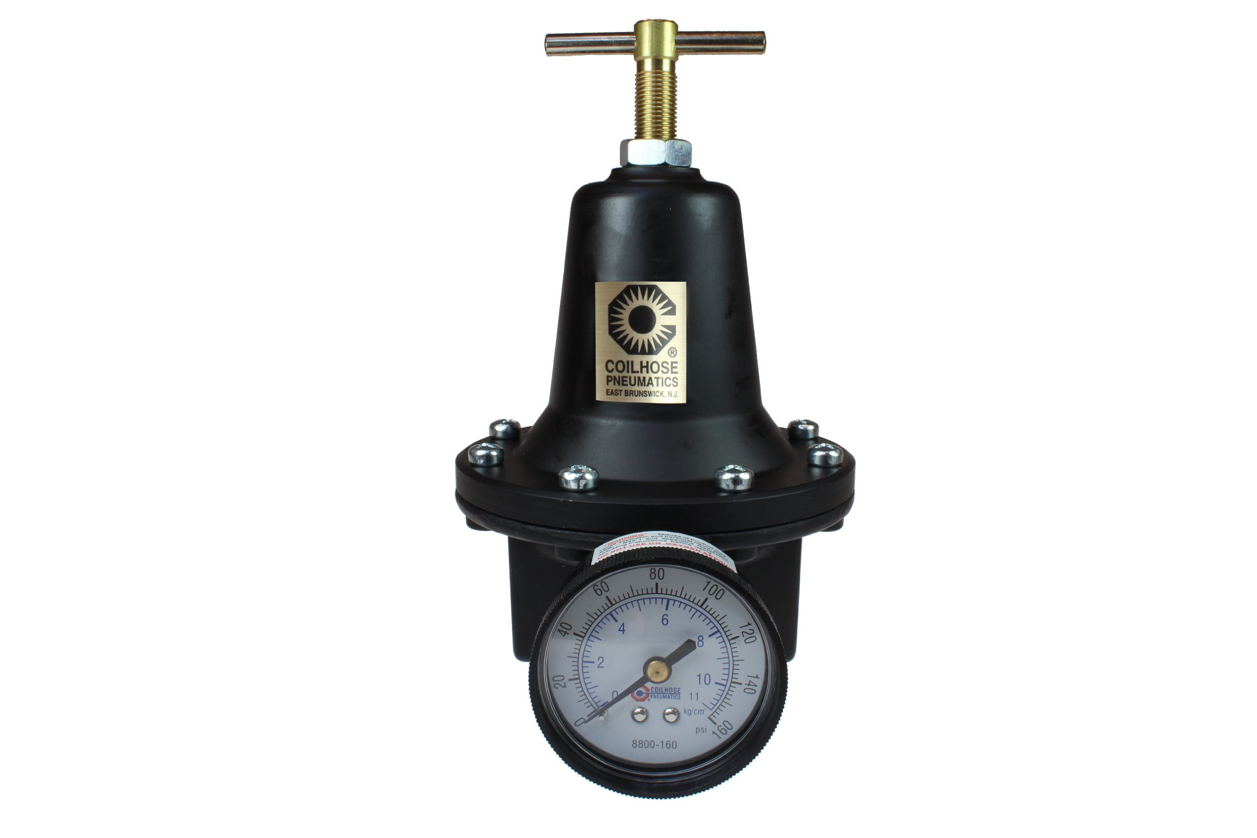 Coilhose Pneumatics 8806G Heavy Duty Series Regulator, 3/4-Inch Pipe Size with Gauge by Coilhose Pneumatics