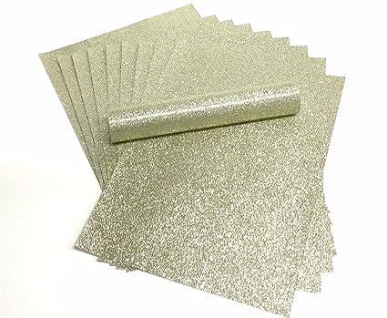 A4 papel con purpurina brillante de oro de luz suave no cobertizo de grosor 150 g