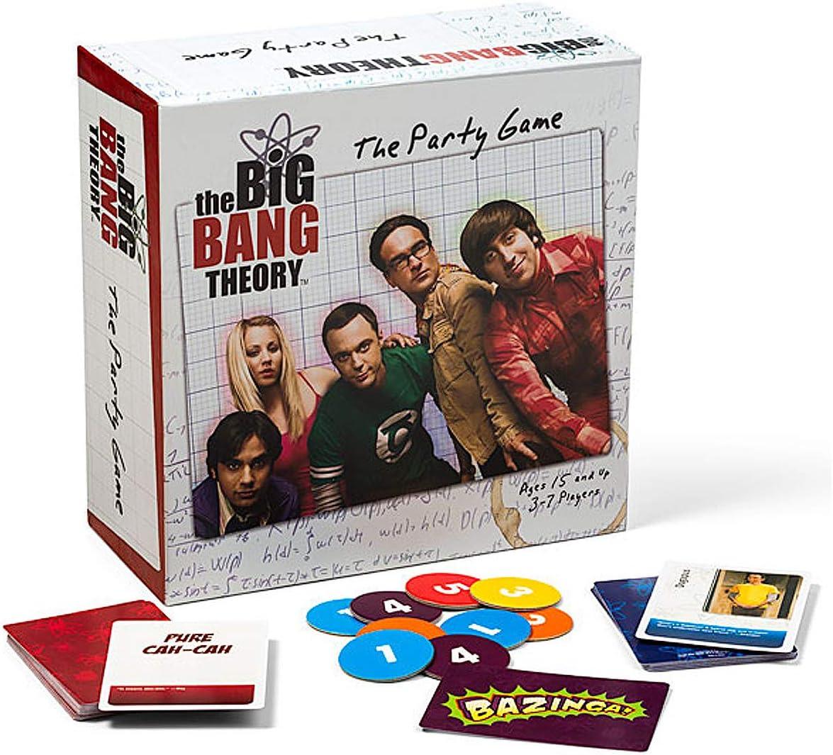 The Big Bang Theory The Party Game - Juego de Mesa (en inglés): Amazon.es: Juguetes y juegos