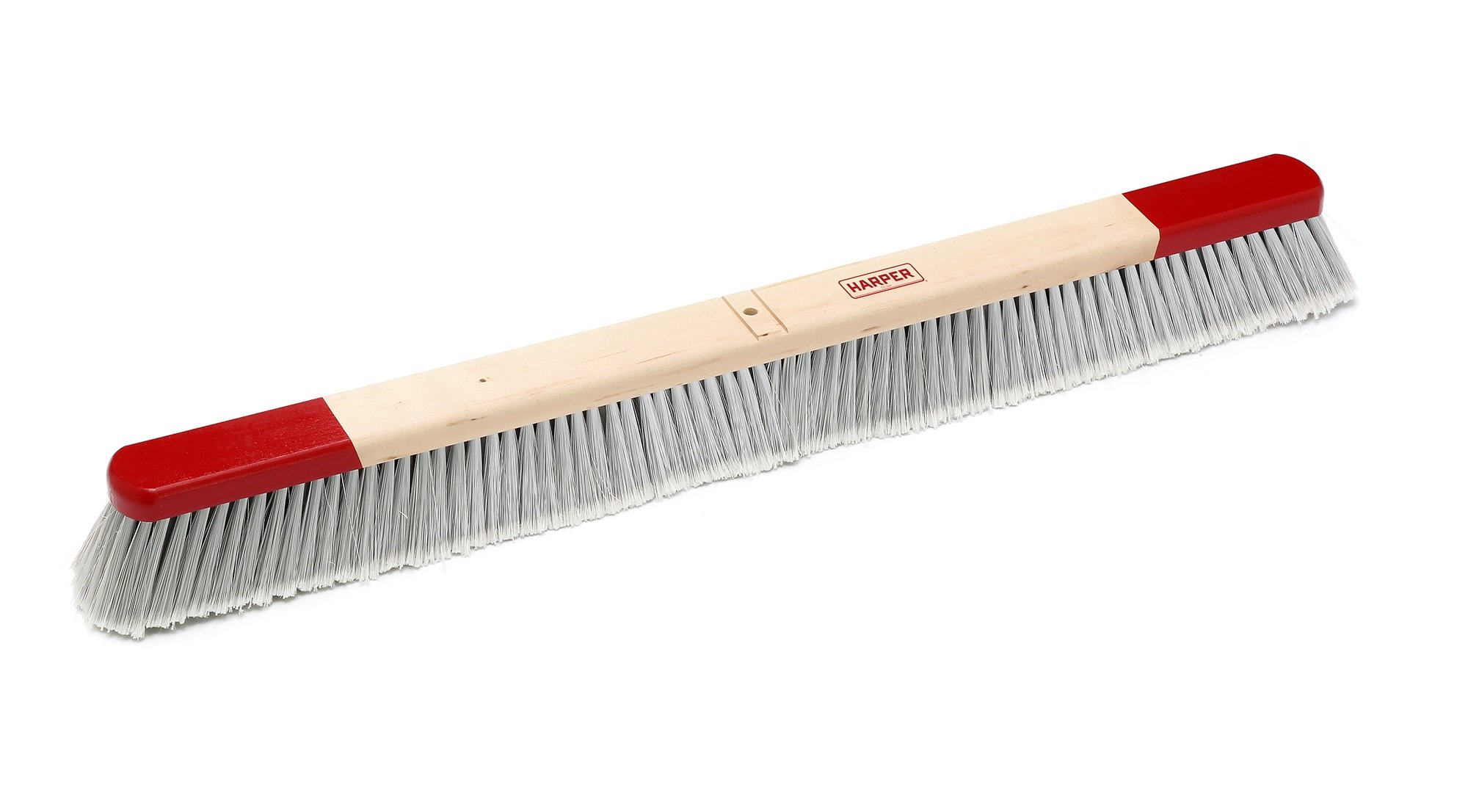 Harper Brush 223612 Broom Head, Polystyrene Fiber, Indoor, Smooth Surface, Maple, 36'' (Pack of 6)