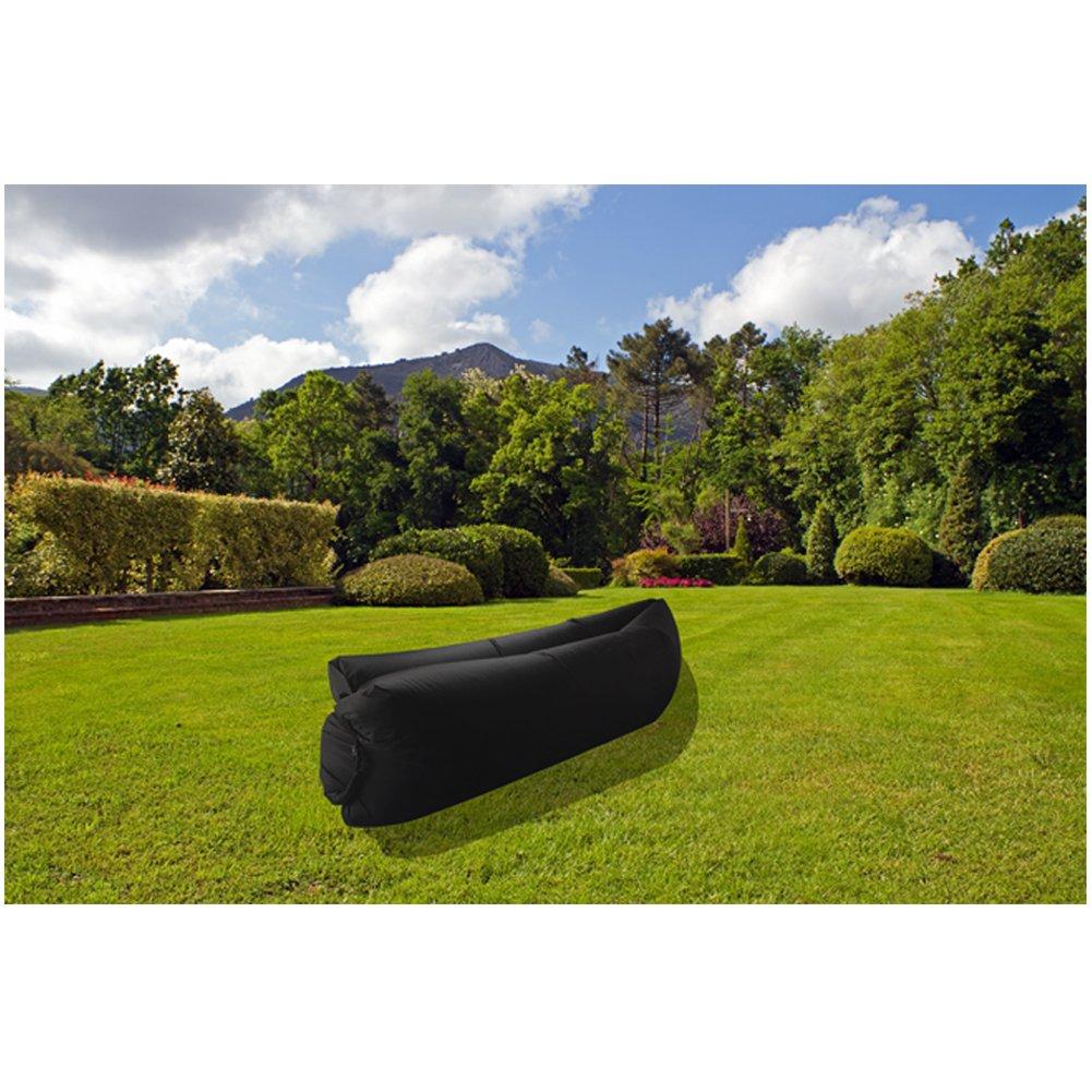 Tumbona xCoco inflable portátil, ideal para descansar, camping, playa, pesca, niños, pasar el rato, fiestas, piscinas: Amazon.es: Deportes y aire libre