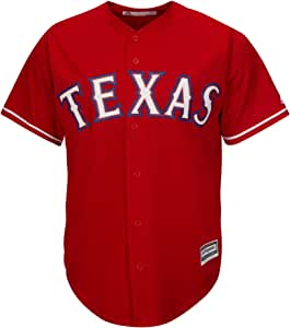 Majestic Athletic MLB Texas Rangers Cool Base Alternate Jersey X Large: Amazon.es: Deportes y aire libre