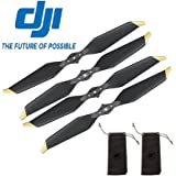 2 Pairs DJI Genuine 8331 Low Noise Propellers for Mavic Pro Platinum with Propeller Bags (Golden Tip)