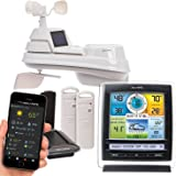 AcuRite 01075RM 5-in-1 Weather Station, Color Display, & 2-Sensor Temperature and Humidity Weather Environment System with My AcuRite Remote Monitoring App