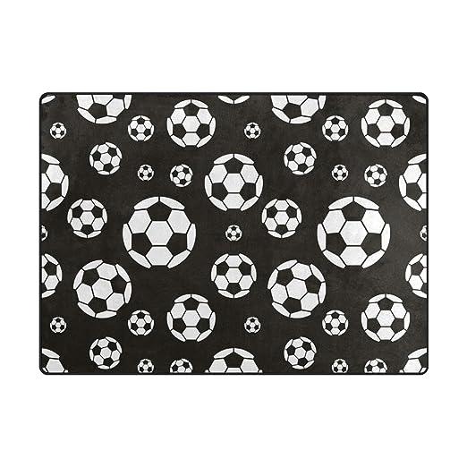 AHOMY - Alfombra Antideslizante de balón de fútbol para Sala de ...