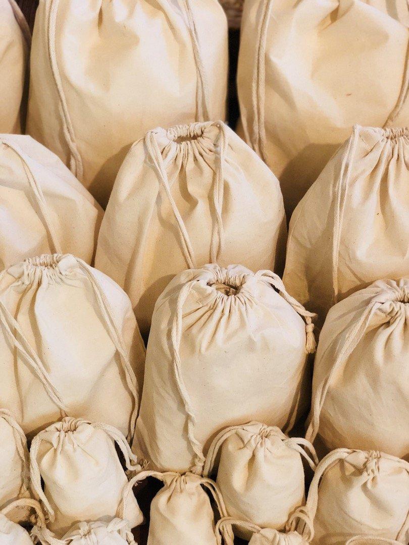 コットンダブルひも付きモスリンバッグ。100 %有機コットン。100のパック 10 x 12 Inches B07C75GGP8 10 x 12 Inches10 x 12 Inches