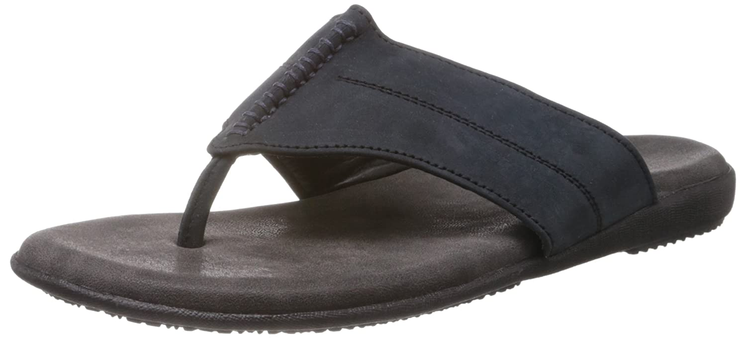 c797bf54d Mochi Men s Blue and Navy Flip Flops Thong Sandals - 7 UK (16-7390)  Buy  Online at Low Prices in India - Amazon.in