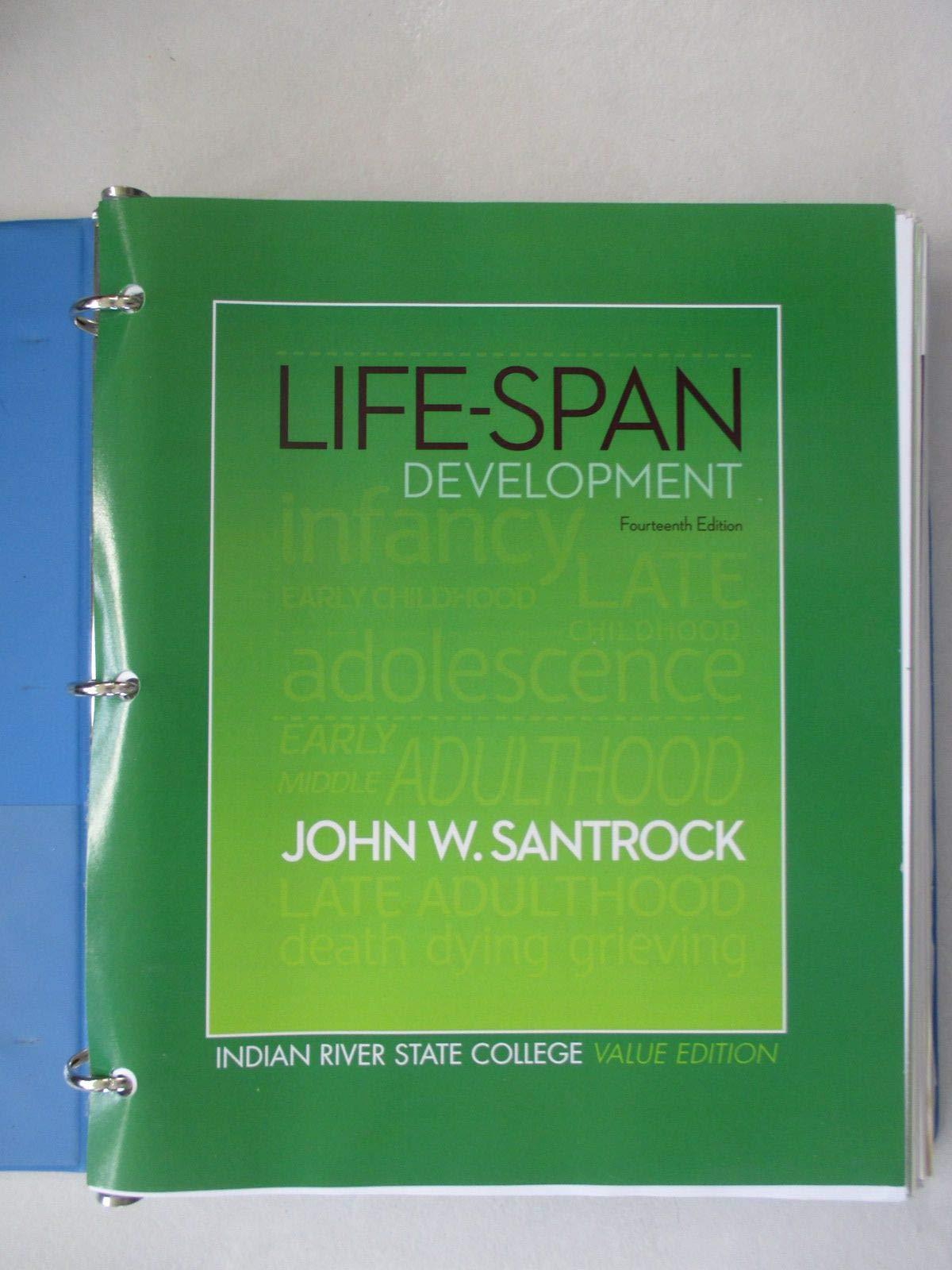 Life Span Development Fourteenth Edition John W Santrock 9780073399287 Amazon Com Books