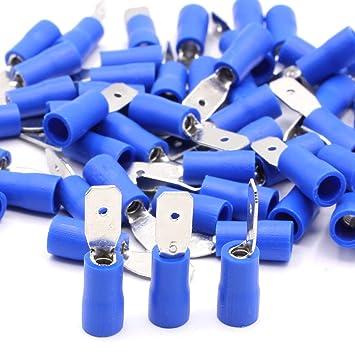 blau 1,5-2,5 mm² Rundverbinder Hülse 4,0 10x Kabelsch
