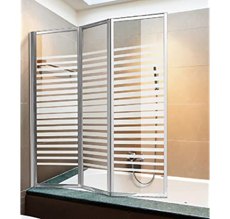 Roll System Mampara Bañera Enrollable. Extensible 90-150 cm Ancho. Puerta Transparente. Aluminio Blanco. Ecológica. Autolimpiable. Marca CE.: Amazon.es: Hogar