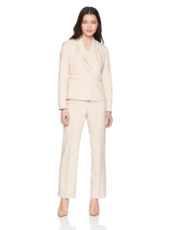 Le Suit Women's Petite End 2 Bttn Peak Lapel Pant 50036852