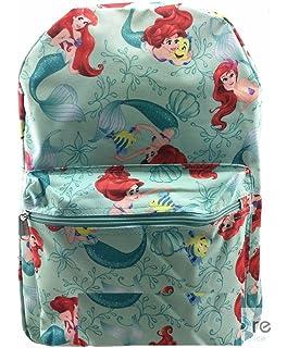 aefd85168d4 Disney Little Mermaid Princess Ariel   Flounder 16   IN Backpack