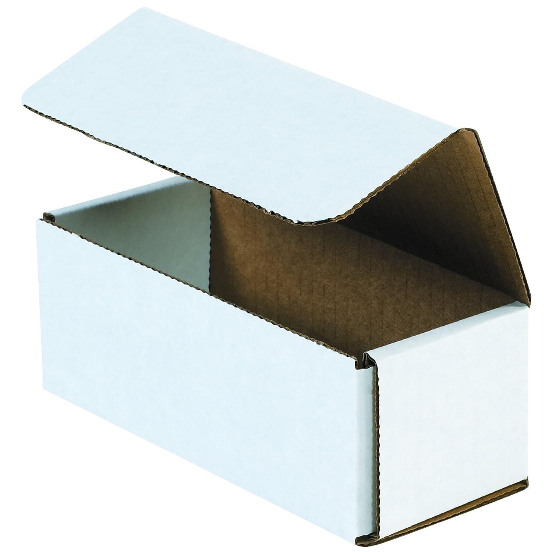 White Pack of 50 BOX USA BM444 4L x 4W x 4H