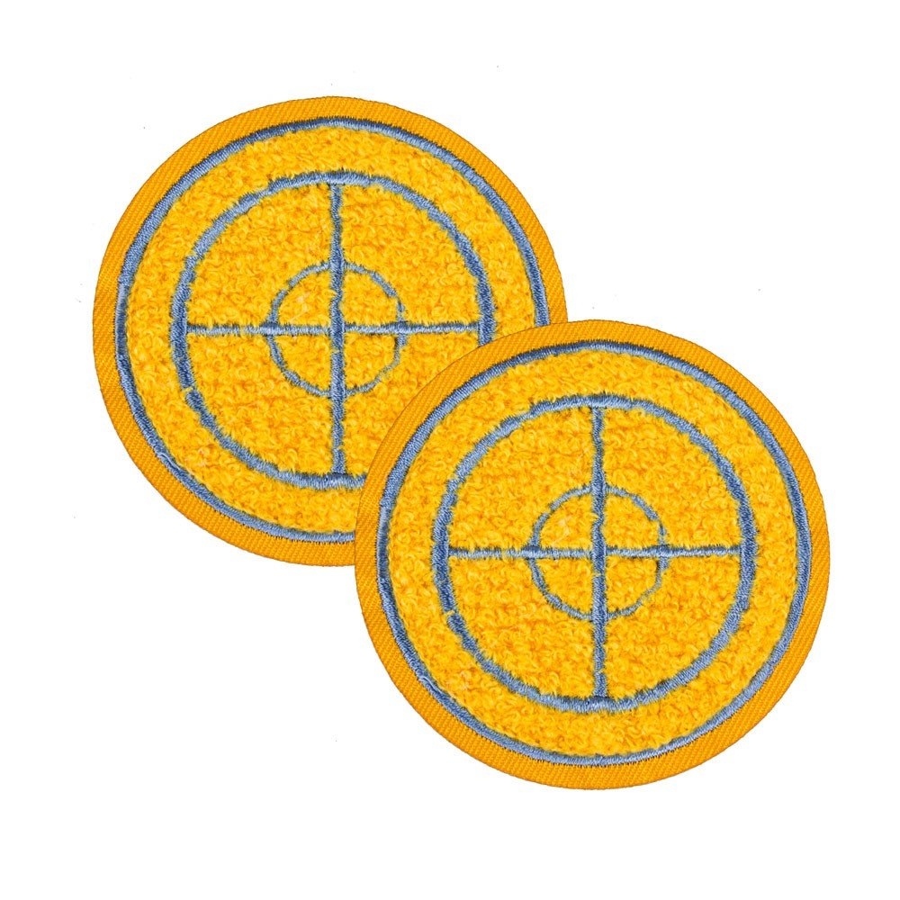 ModCloth Team Fortress 2 Sniper Patches: Set of 2, Team Blu by ModCloth