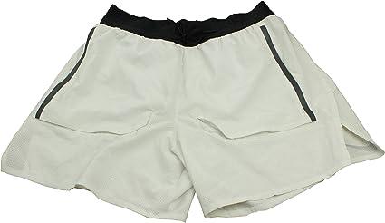 Nike BV5689 096 Short de Course pour Homme Blanc: